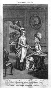 The Art of Cookery, lady and her made